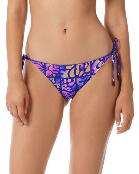 Vilebrequin Phuket Printed Side-Tie Bikini Bottom