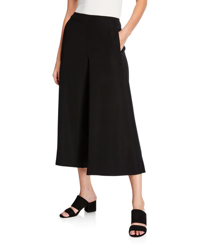 High-Rise Cropped Culottes