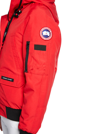 Canada Goose Chilliwack Down Bomber Jacket w/ Fur Hood