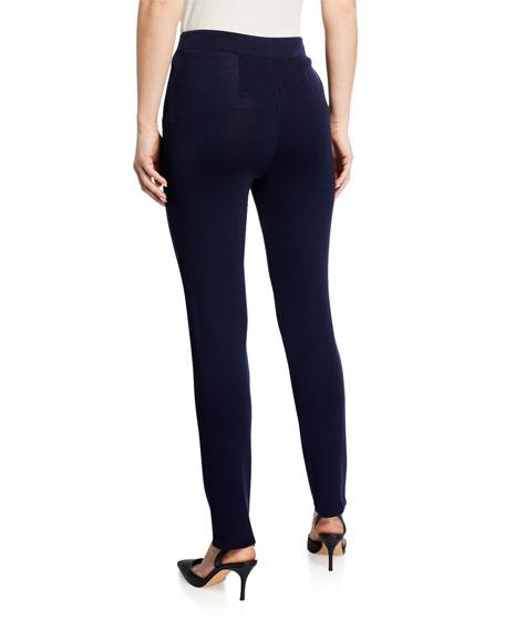 Misook Slim-Leg Knit Pants
