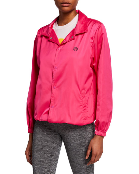 Tory Sport GoodSport Satin Warm-Up Jacket