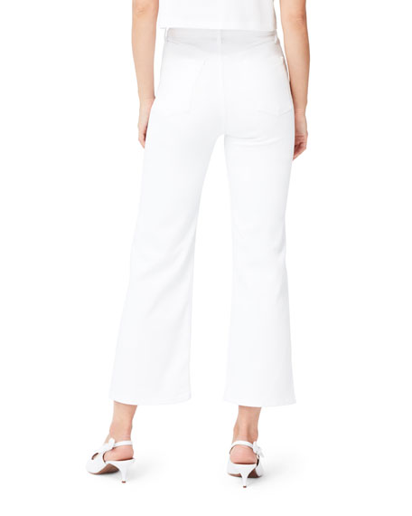 3x1 Nicolette High-Rise Cropped Straight Jeans