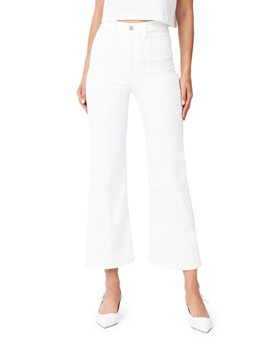 Nicolette High-Rise Cropped Straight Jeans