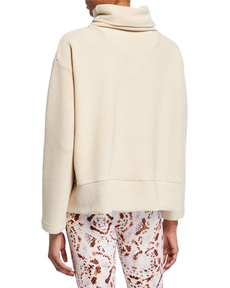 Varley Colina Ribbed Sweatshirt