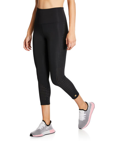 Bliss Crop High-Waist Leggings