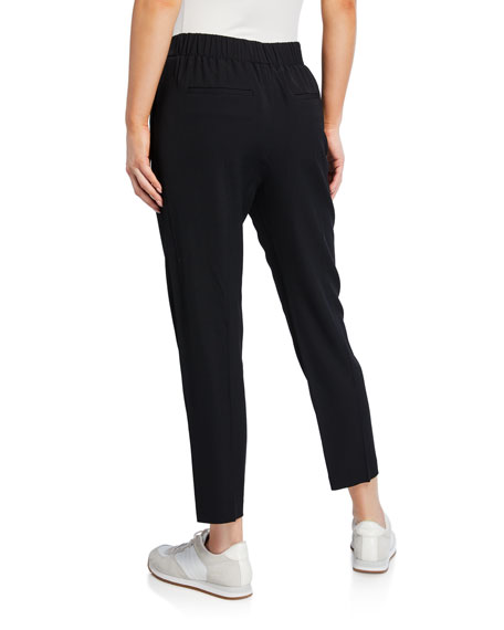 Vince Easy Pull-On Crop Pants
