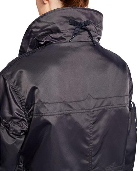 Hunter Boot Refined Drawstring Waterproof Coat