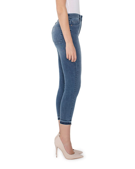Parker Smith Bombshell Crop Skinny Jeans