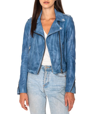 a661e90d1a53 Leather Jackets & Coats for Women at Neiman Marcus
