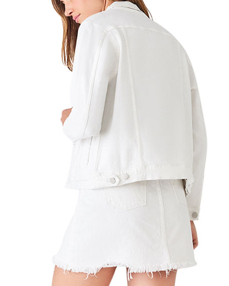 DL1961 Premium Denim Clyde Button-Front Denim Jacket