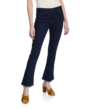 52a544daffd4 Jen7 by 7 for All Mankind Ankle Skinny Jeans with Ruffle Hem