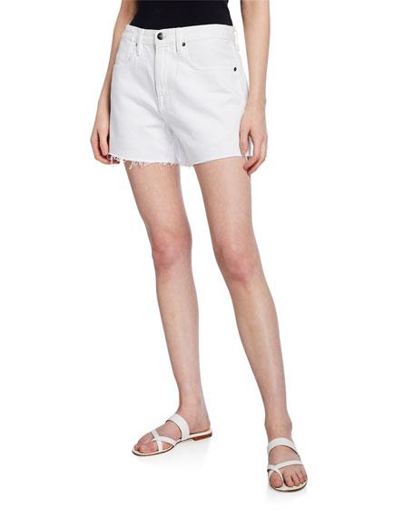 FRAME Le Brigette High-Waist Shorts
