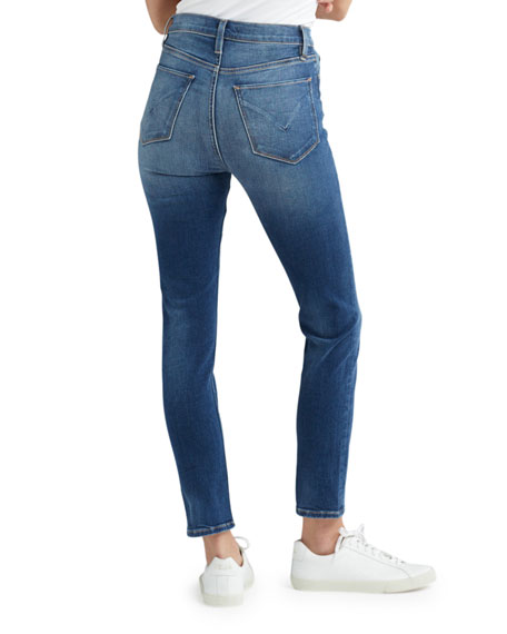 Hudson Holly High-Rise Crop Skinny Jeans