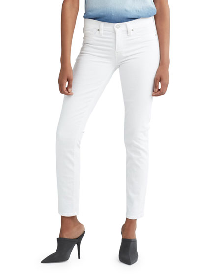 Hudson Tally Mid-Rise Crop Skinny Jeans
