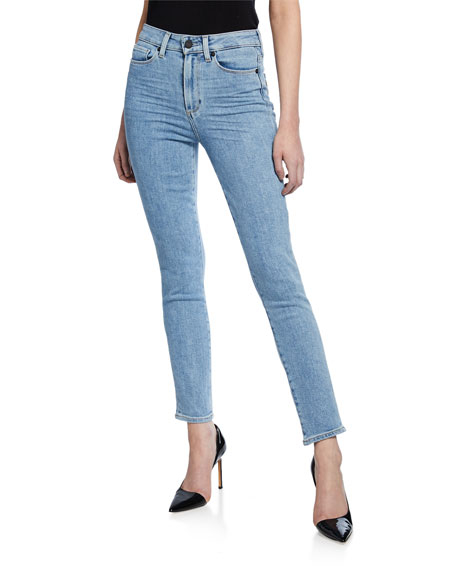 PAIGE Margot High-Rise Ankle Peg Jeans