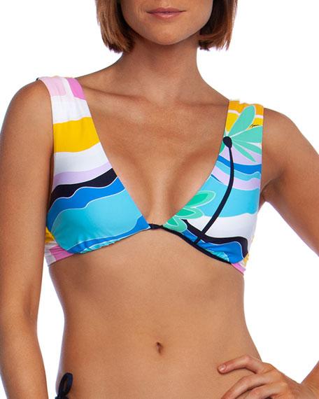 Trina Turk Mosaic Sunrise Underwire Bikini Top