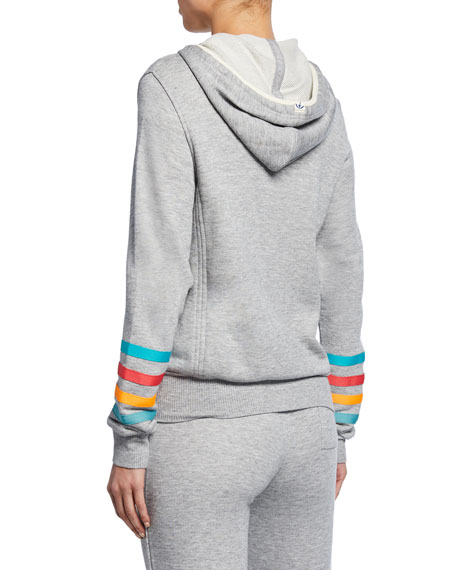 Splendid Lifeguard Striped Hoodie