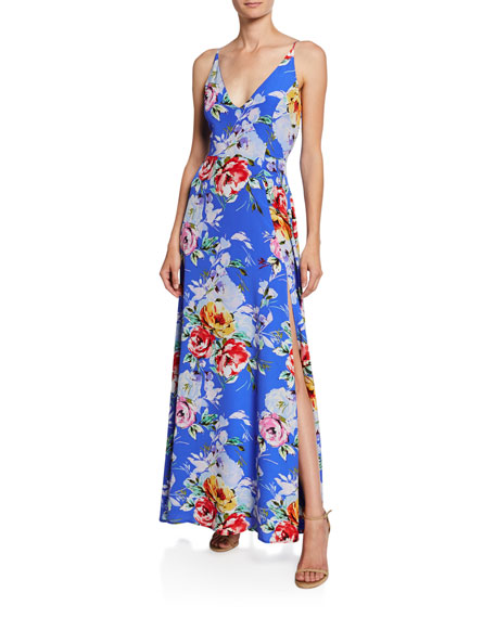 Yumi Kim Jasmine Rose-Print Maxi Dress