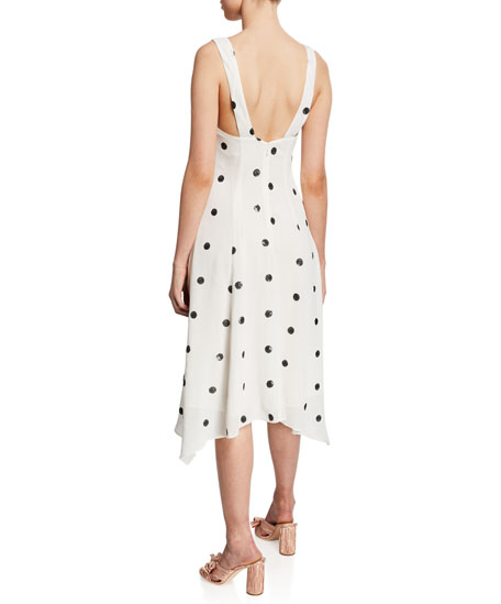 La Maison Talulah Forget Me Not Handkerchief Dress