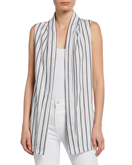 Cupcakes and Cashmere Elantra Striped Duster Vest
