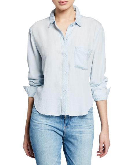 Rails Dana Raw Chambray Button-Front Shirt