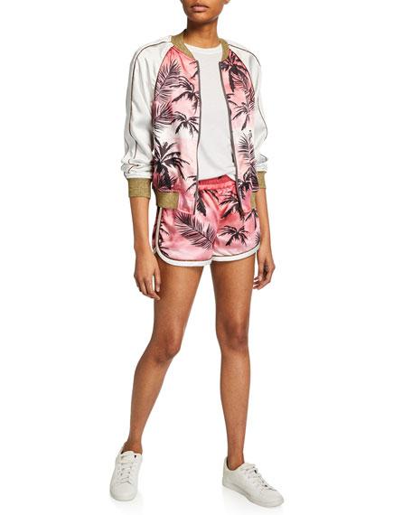 Pam & Gela Sunset Tree Dolphin Shorts