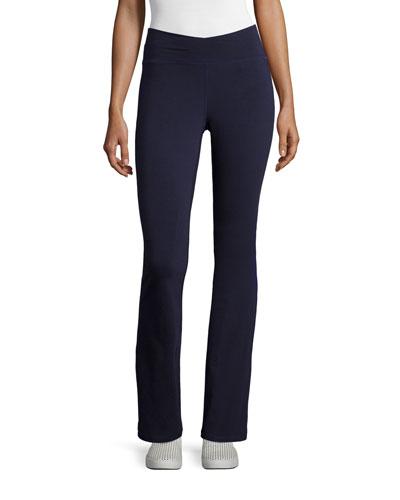 Petite Stretch Jersey Yoga Pants