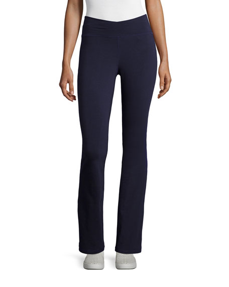 Eileen Fisher Petite Stretch Jersey Yoga Pants