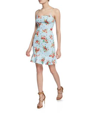 d860aaa207e Likely Banks Floral-Print Flounce Dress