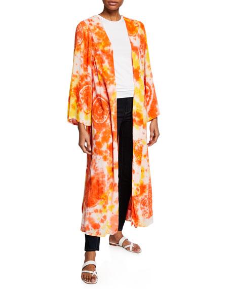 All Things Mochi Louma Tie-Dye Long Robe