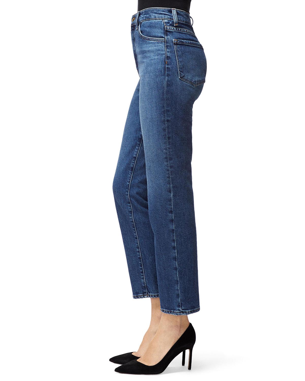 0d7ea9390036 Jules High-Rise Straight-Leg Jeans