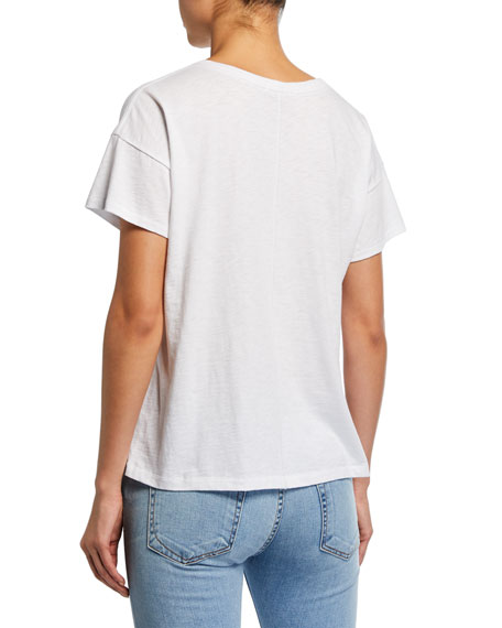 Rag & Bone Very Best Vintage Crewneck Short-Sleeve T-Shirt