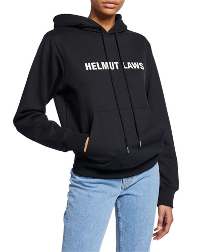 Helmut Laws Graphic Pullover Hoodie