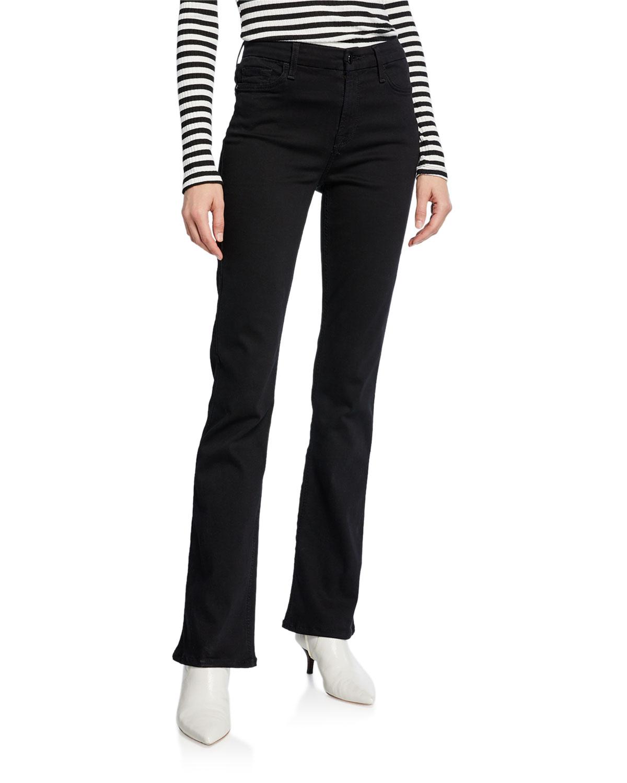 f1f264d01f Stretch Slim Boot-Cut Jeans