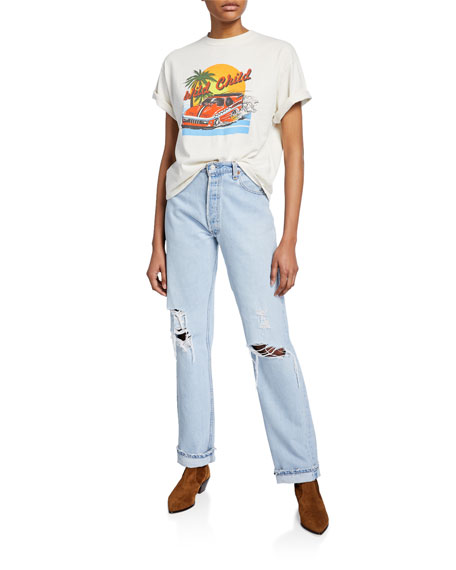 RE/DONE 90s Jeans with Destruction