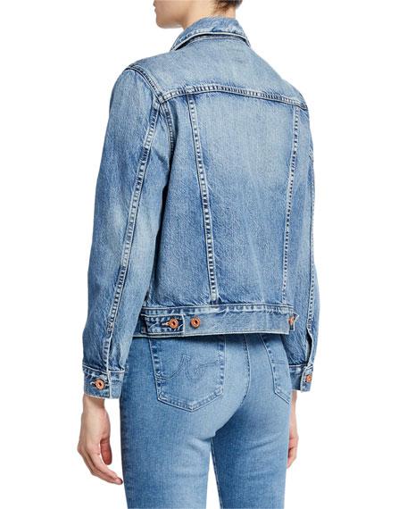 AG Eliette Cropped Denim Jacket