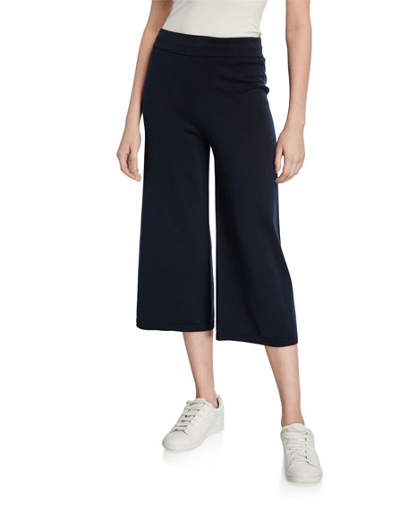 Vince Washed Cotton Culottes