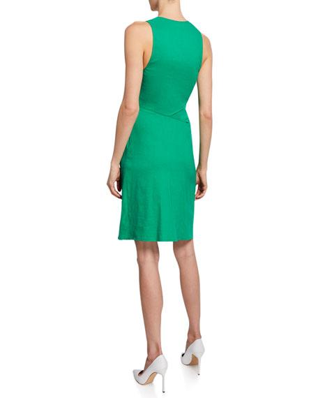 A.L.C. Jina Ruched Sheath Dress