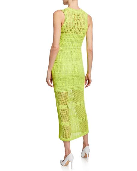 A.L.C. Monaghan Sleeveless Crochet Dress