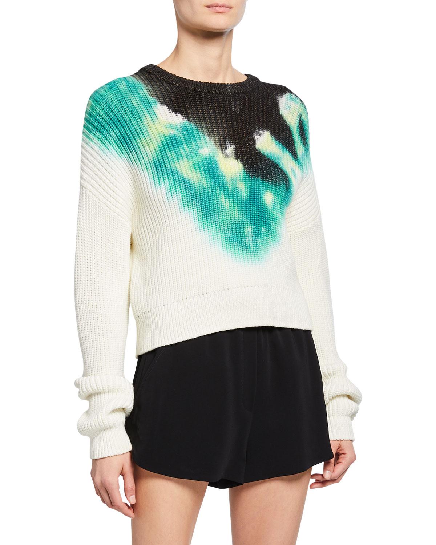 Elinor Tie Dye Crewneck Sweater by A.L.C.