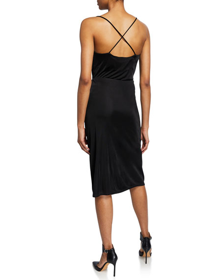 Opening Ceremony Cowl-Neck Cross-Back Camisole