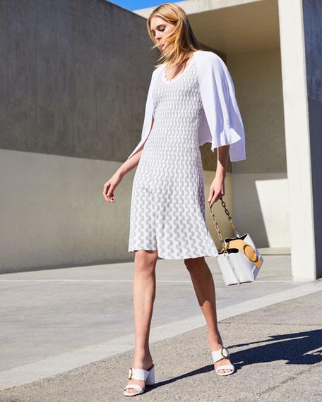 NIC+ZOE Spring Fling Sleeveless Twirl Dress