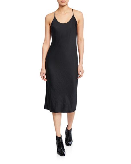 alexanderwang.t Lightweight Wash & Go Dress with Open Back