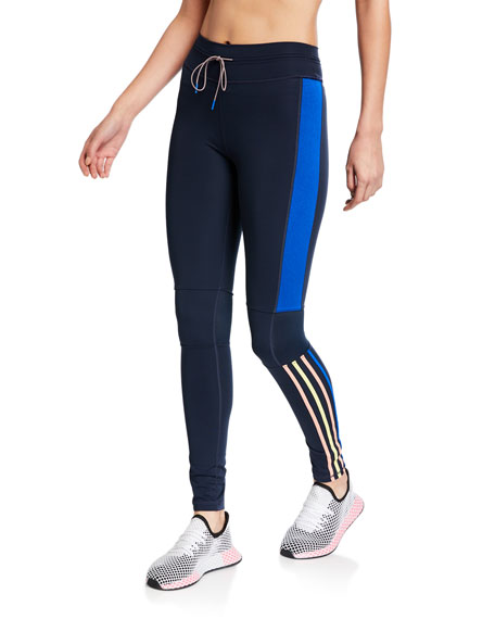 The Upside Drawstring Side Striped Yoga Pants