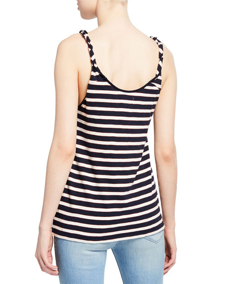 Image 3 of 3: Current/Elliott The Twisted Striped Tank