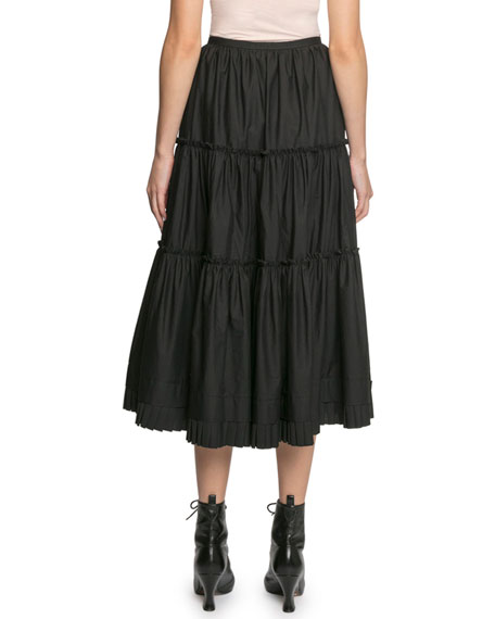 Image 2 of 2: The Marc Jacobs The Prairie Tiered Ruffle Skirt