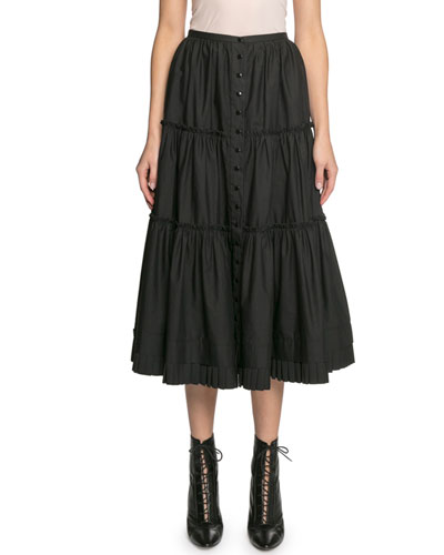 The Prairie Tiered Ruffle Skirt