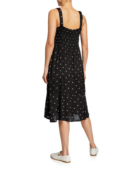 Masai Opal Polka-Dot Sleeveless Dress