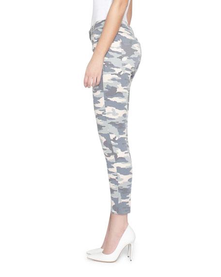 Parker Smith Ava Crop Skinny Camo-Print Jeans