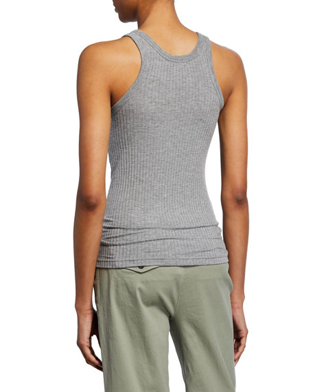 ATM Anthony Thomas Melillo Wide Rib Tank Top